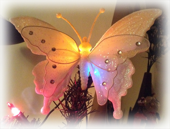 Christmas Butterfly - My Tree Topper
